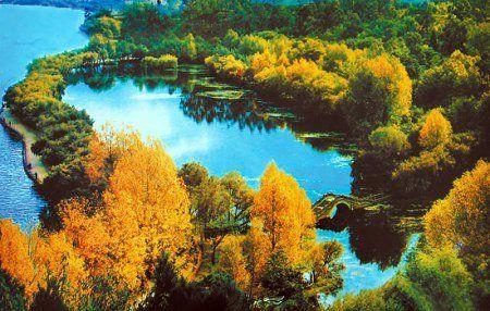 2006年春节,中共大理州委、州人民政府发出的贺年卡,背景正是情人湖。寸亚平供图