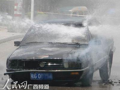 车辆在行驶过程中发生自燃事故