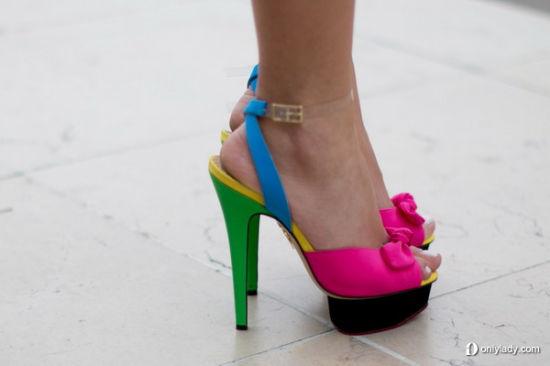 糖果色美鞋