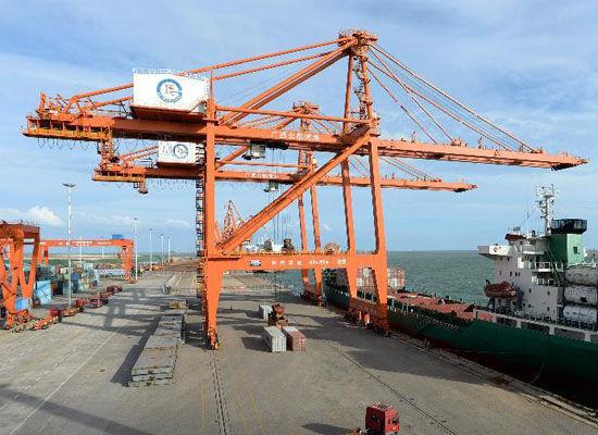 广西北部湾港1至5月吞吐量同比翻番