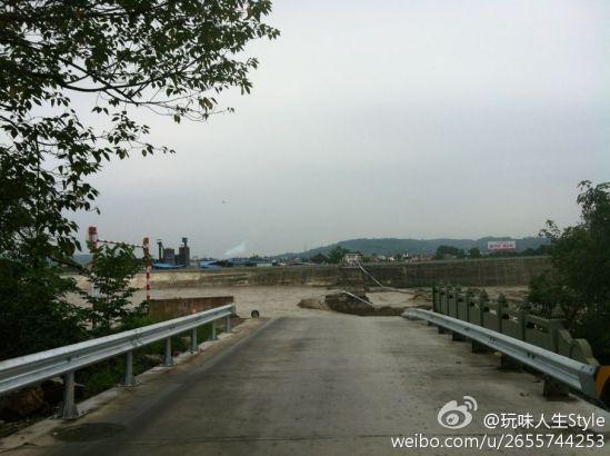 青莲大桥桥头