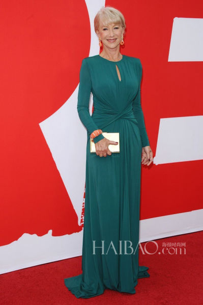 女明星海伦·米伦(Helen Mirren)