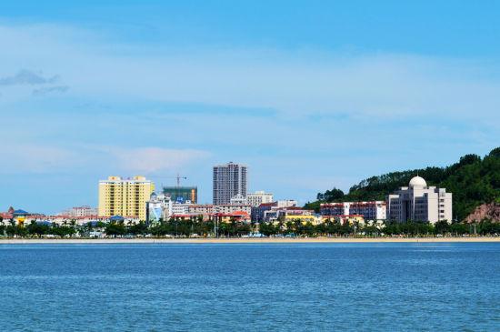 防城港城市一景 图片来源:新浪博客