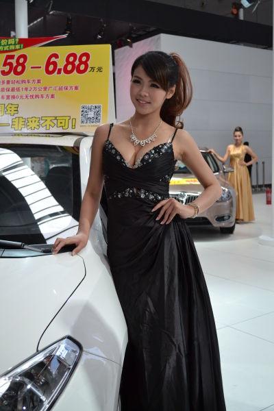 广西国际汽车文化节车模