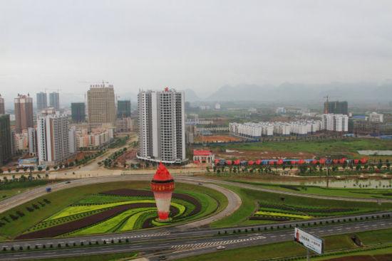 来宾高速公路景色 图片来源:新浪博客