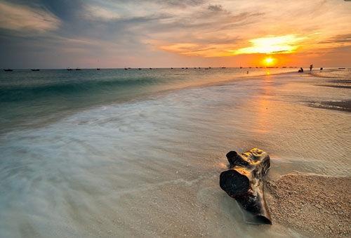 涠洲岛的海滩