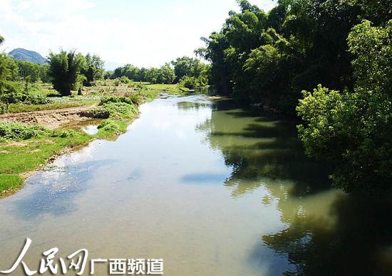 图为发生溺水事件河段,平静的河面下潜藏着危险(甘勇/摄)