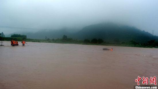 广西荔浦县遭遇近十年来最大洪涝灾害