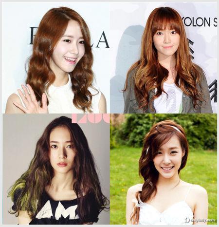 韩国女星最美发型