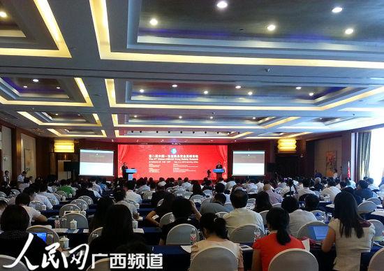 第二届中国—东盟药品安全高峰论坛现场。人民网记者张芳 摄