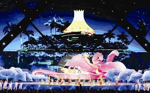 舞台虽然变小了,但视觉效果仍然出彩。