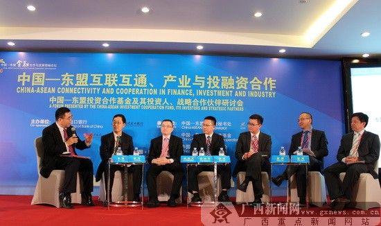 第五届中国-东盟金融合作与发展领袖论坛现场。广西新闻网记者 韩定宏摄