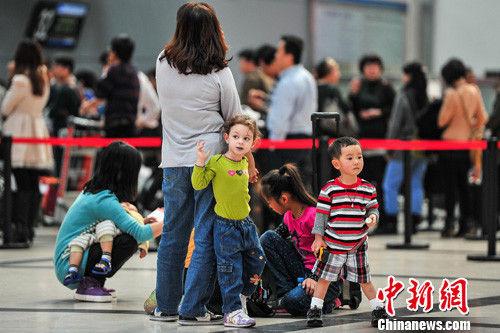 南宁机场内 图片来源:中新网
