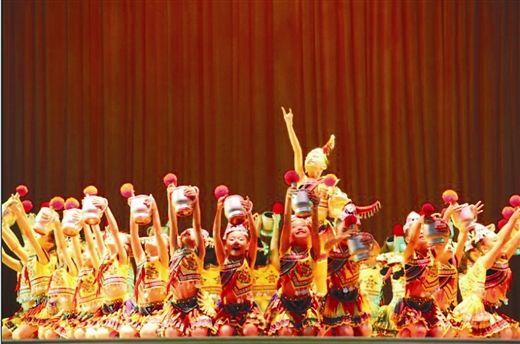 """获得""""小荷之星""""奖的舞蹈作品《童趣·辣椒钵》(受访者供图)"""