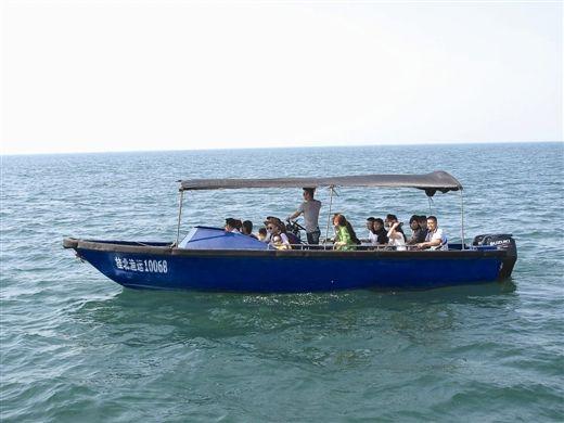 国庆游北海涠洲岛 不要乘坐非法快艇