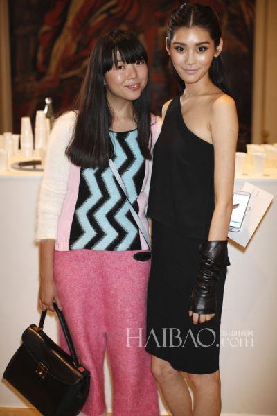 奚梦瑶 (Ming Xi) 和时尚博主Susie Lau