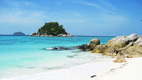 """泰国""""小马尔代夫""""丽贝岛隐世海滩""""泰""""美丽"""