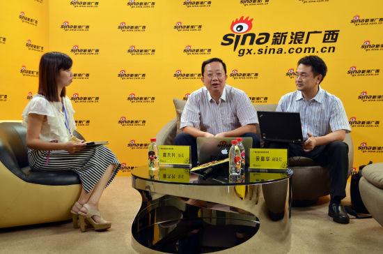 广西旅游局做客新浪广西《微访谈》。