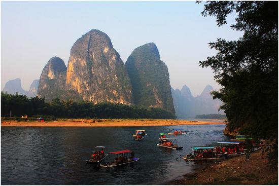 桂林山水 图源:新浪网