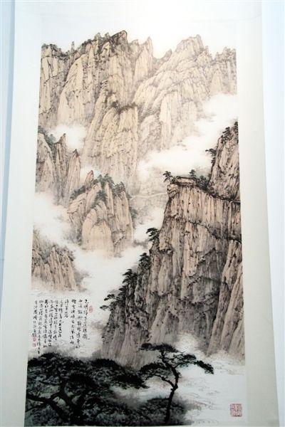 周澄创作的国画作品