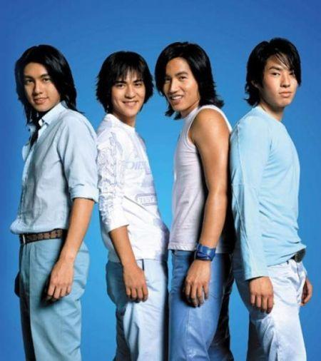 当年的F的四位成员