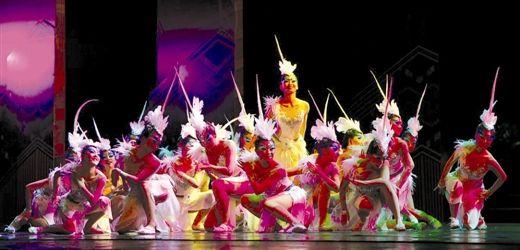 舞蹈《羽人》获创作二等奖