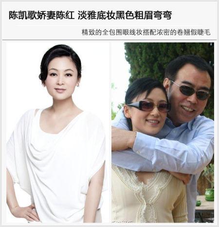 陈凯歌娇妻