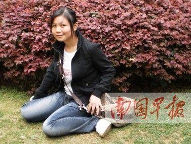 柳州籍女大学生韦彩妮失踪警方已介入(图)