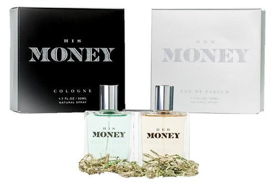 金钱味道的香水
