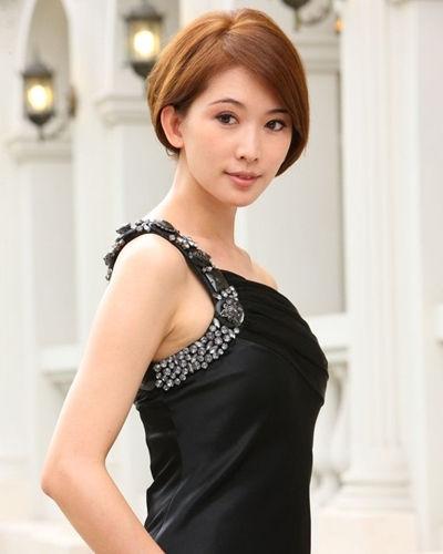 林志玲知性短发发型