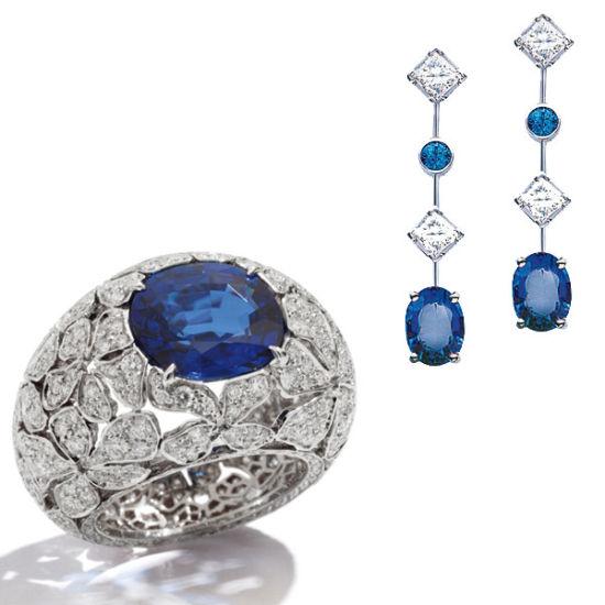 单品来自:宝曼兰朵戒指 尚美巴黎耳环