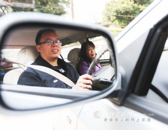 桂林最牛司机。图片来源:桂林生活网
