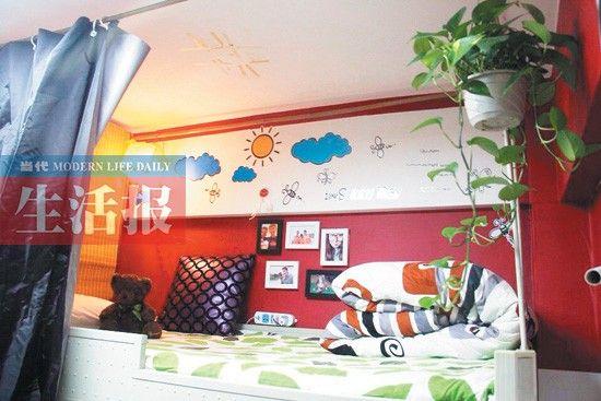 刘瀚林的文艺宿舍。图片由受访者提供