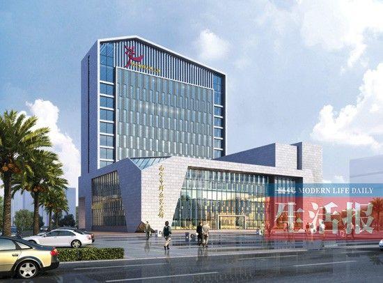 南宁市群众艺术馆重建项目效果图