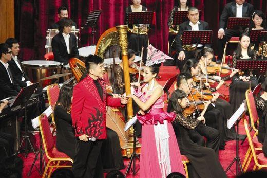 广西交响乐团带来了《山中只有藤缠树》