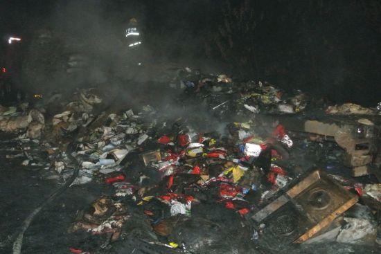 灾后现场。图片来源:桂林市公安消防支队
