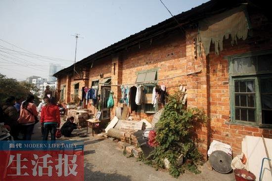 郭先生生前与家人住的地方。