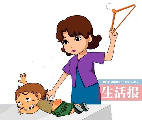教育孩子可以打但不要带情绪打。