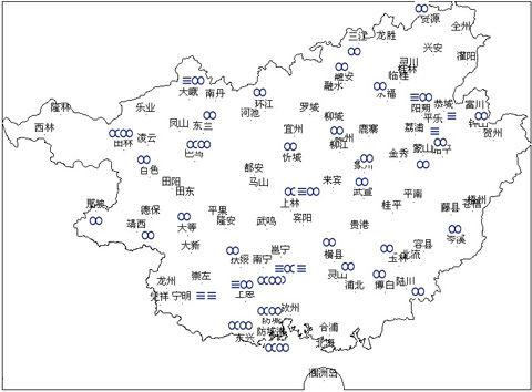 至4日08时的12小时雾霾实况图。