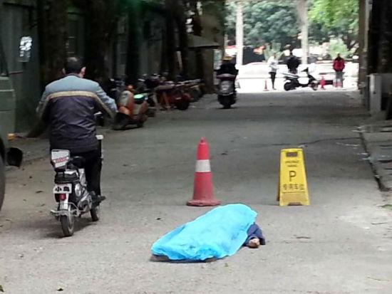 80多岁拾荒老人在南宁民族大道附近身亡