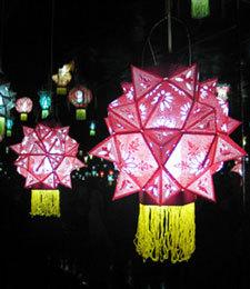 元宵去柳州看花灯