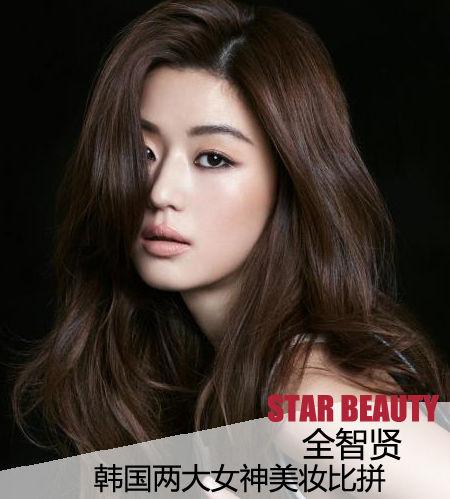全智贤近日携手某品牌拍摄广告