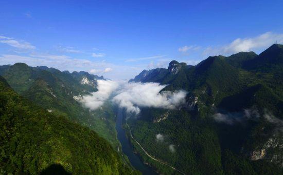 龙潭大峡谷国家森林公园。