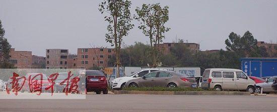 春节期间,到南宁市五象湖公园游玩的游客非常多,周边停满车辆。
