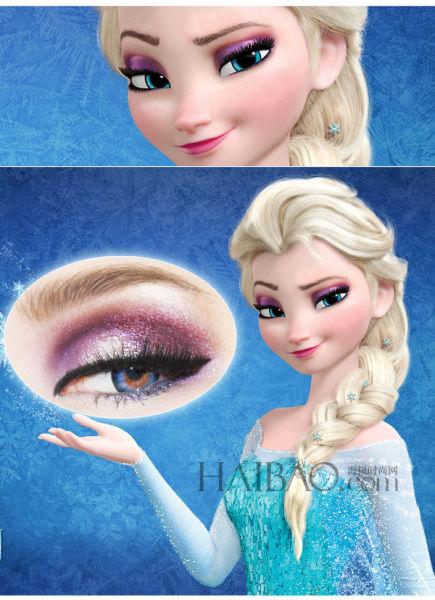 《冰雪奇缘》令人瞬间如冰冻般呆住的魅惑眼神