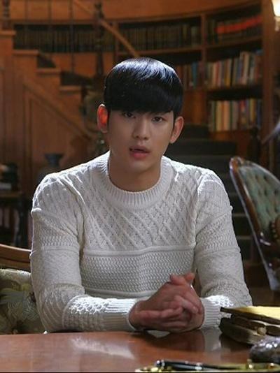 金秀贤在《星星》中的这件毛衣拍得天价