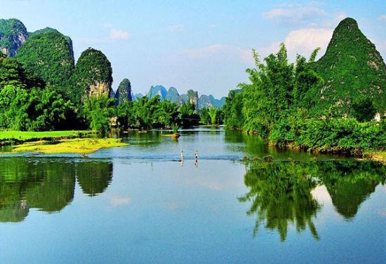 桂林秀丽山水风光