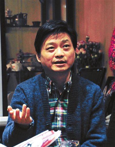 崔永元在北京举行美国转基因调查说明会供图CFP