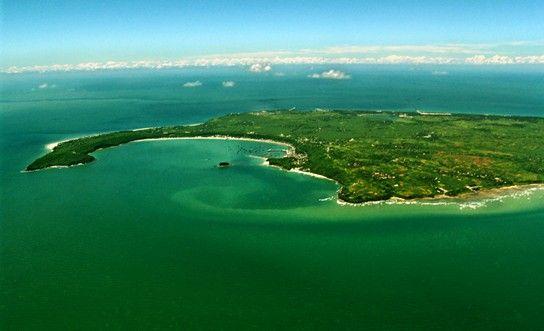 涠洲岛全貌