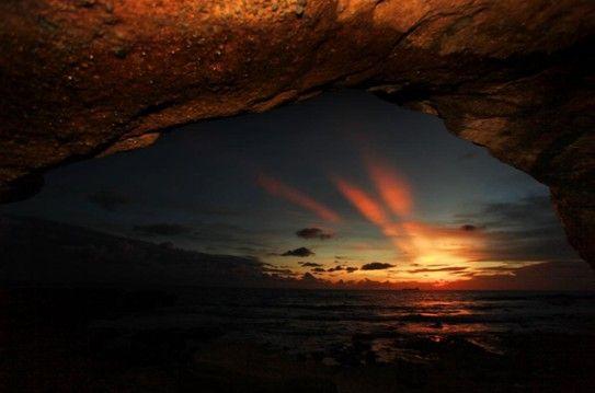 涠洲岛霞光